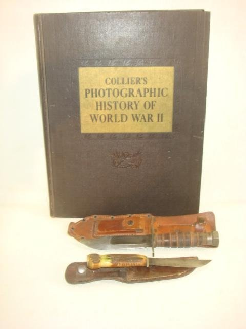 World War II Picture Book and Four Knives: