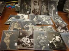 Forty 1920s Naughty French Postcards