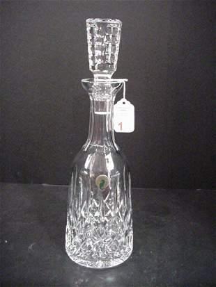 Waterford Irish Crystal Lismore Decanter