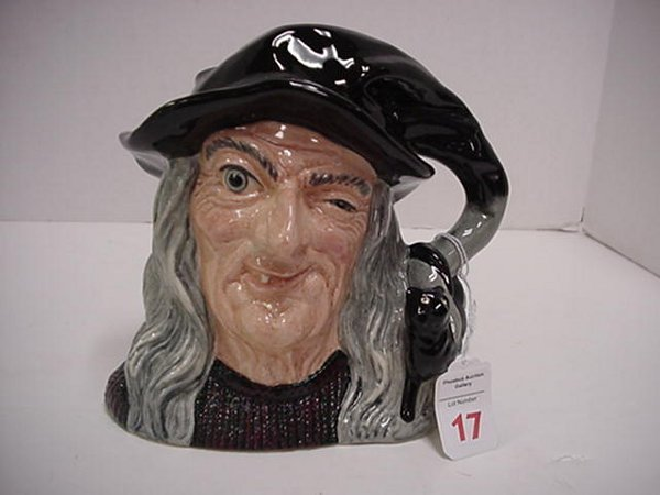 17: The Witch, Royal Doulton Jug: D6893, Larg