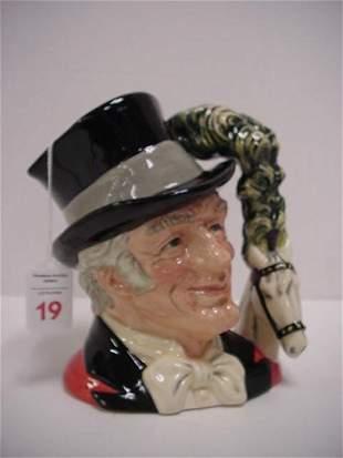 The Ring Master, Royal Doulton Jug: D6863
