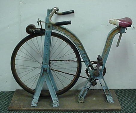 131: The Earliest Exercise Bike by Everlast: