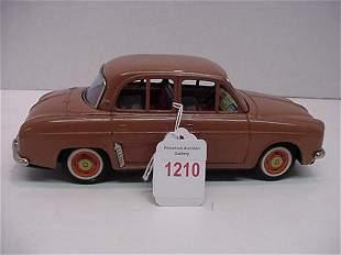 Tin Litho 1950's Renault Dauphine