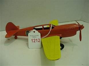 1950's Hubley P-40 Warhawk Die Cast Air