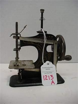 Miniature German Sewing Machine