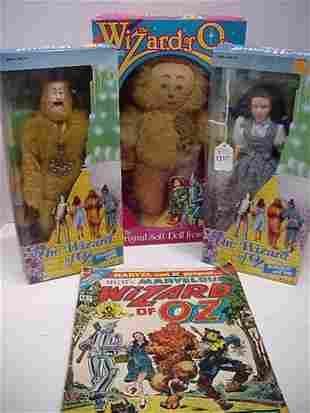 Seven Wizard of Oz Collectibles