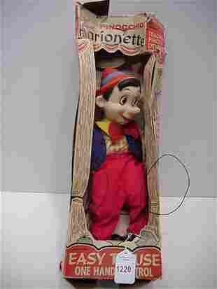 1950's Pinocchio Marionette