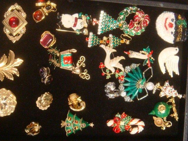 Ladies Holiday Theme Costume Jewelry: