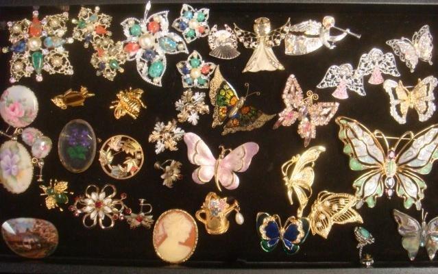 Ladies Costume and Handpainted Jewelry: