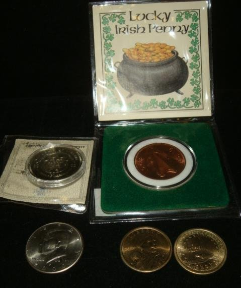 Five Collector's Coins