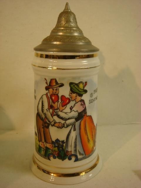 Vintage German Stein with Lithophane: