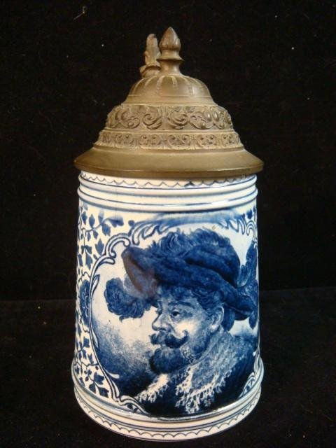 "ROYAL BONN ""Delft"" Stein:"