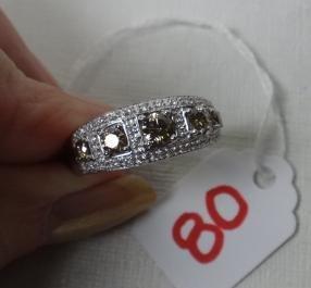 LA VIAN Chocolate Diamond Ring: