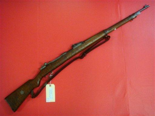 1907 MAUSER Gew 98, 8mm Bolt Action Rifle: