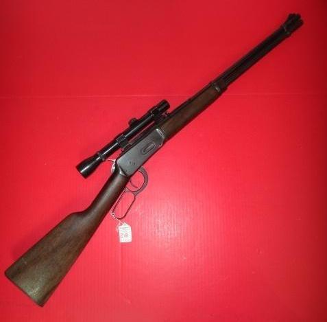 WINCHESTER MODEL 94, 30-30 Rifle w/ WEAVER Scope: