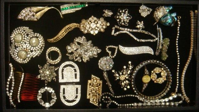 Ladies Rhinestone Costume Jewelry: