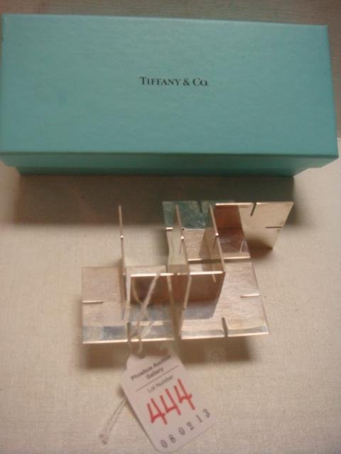 Unusual TIFFANY & CO Sterling Silver Desk Puzzle: