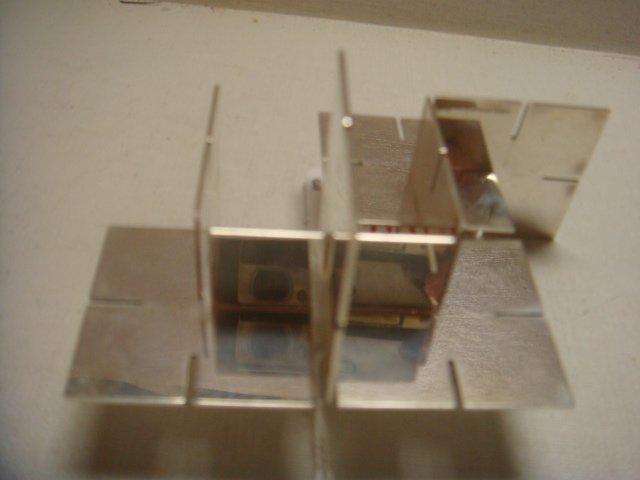 Unusual TIFFANY & CO Sterling Silver Desk Puzzle: - 2