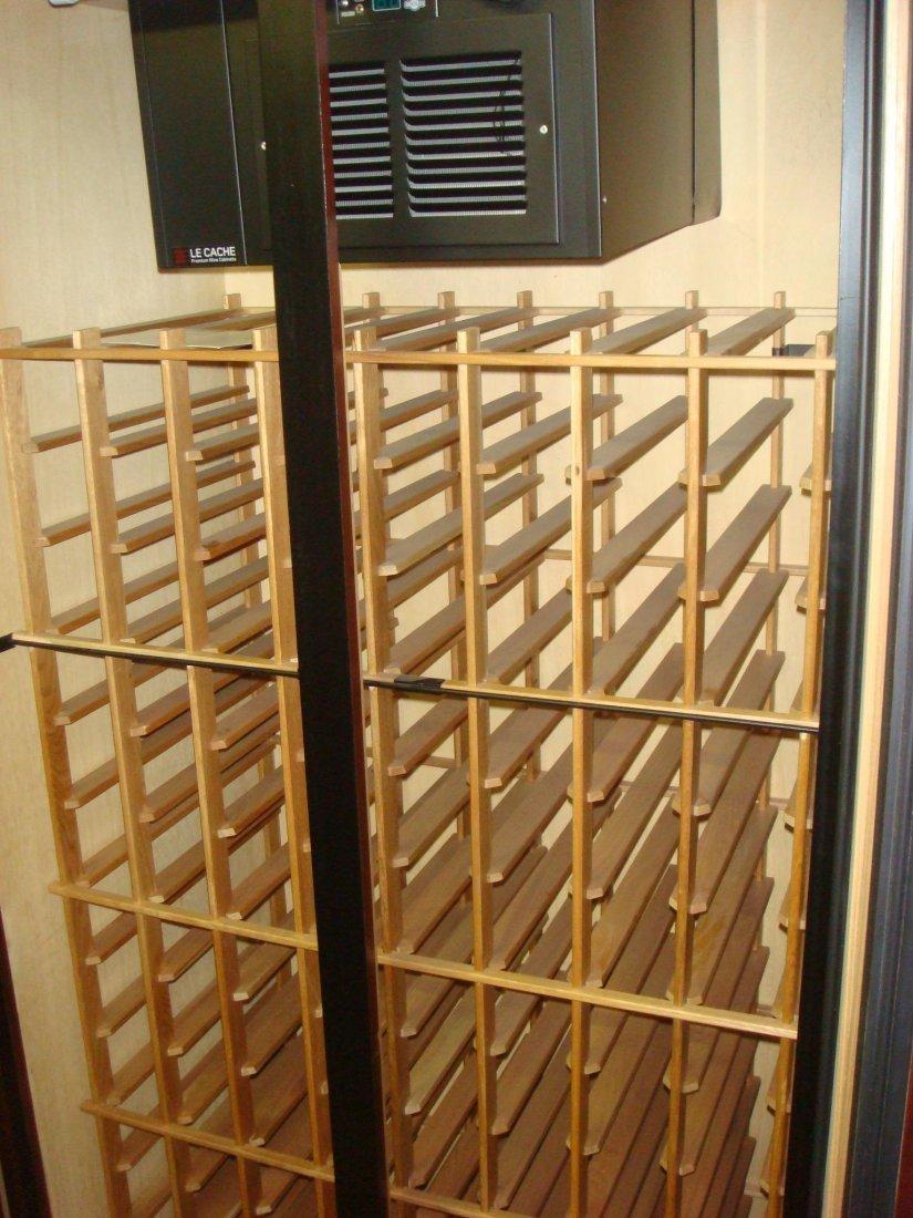 Le CACHE Model 2400 Premium Freestanding Wine Cabinet: - 2