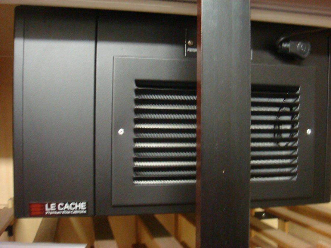 Le CACHE Model 2400 Premium Freestanding Wine Cabinet: - 3