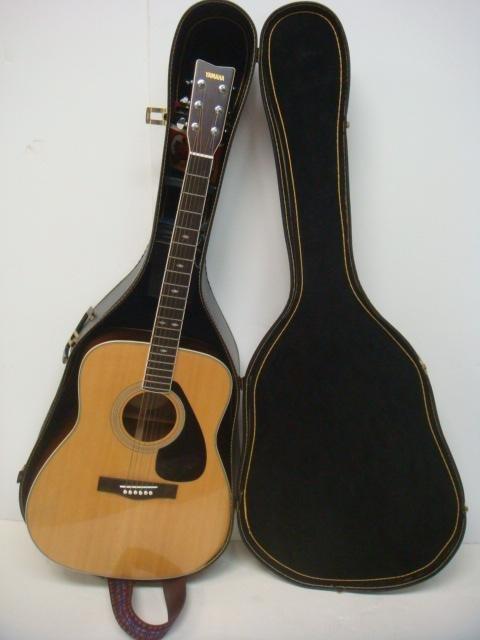 Yamaha FG 345 II Guitar with Hard Shell Case: