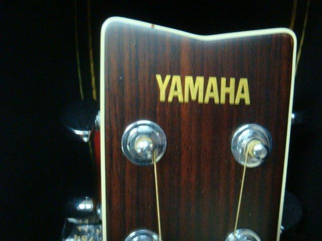 Yamaha FG 345 II Guitar with Hard Shell Case: - 2