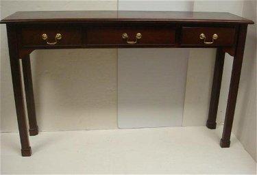 Admirable Bombay Co Mahogany 3 Drawer Sofa Table Lamtechconsult Wood Chair Design Ideas Lamtechconsultcom