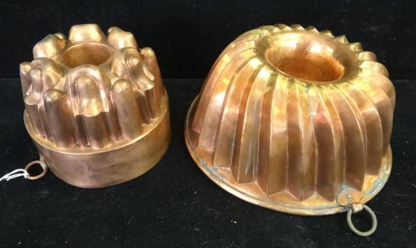 Vintage/Antique Copper Molds/Cake Pan: