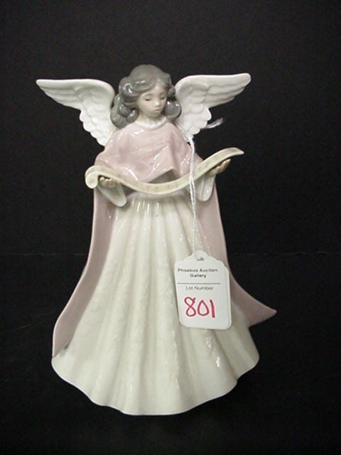 801: Lladro Angel Limited Edition Tree Topper