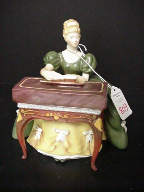 809: Royal Doulton Virginals Porcelain Figuri