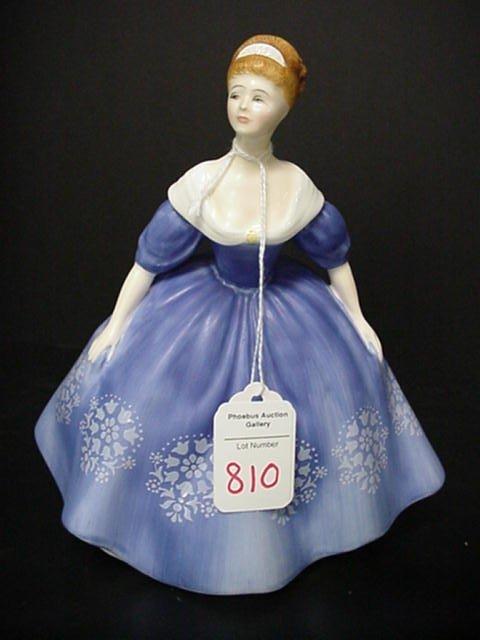 810: Royal Doulton Nina Porcelain Figurine:
