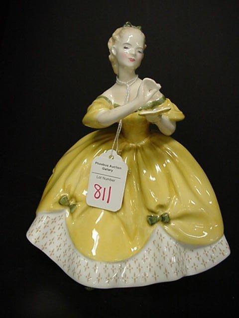 811: Royal Doulton Last Waltz Porcelain Figur