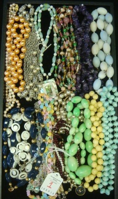 Ladies Costume Jewelry Necklaces: