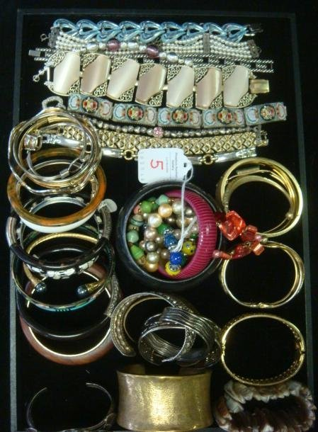 Ladies Costume Jewelry Bracelets: