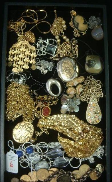 Ladies Costume Jewelry Pendant Necklaces and More: