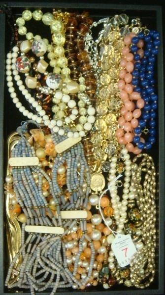 Ladies Costume Jewelry Fashion Necklaces: