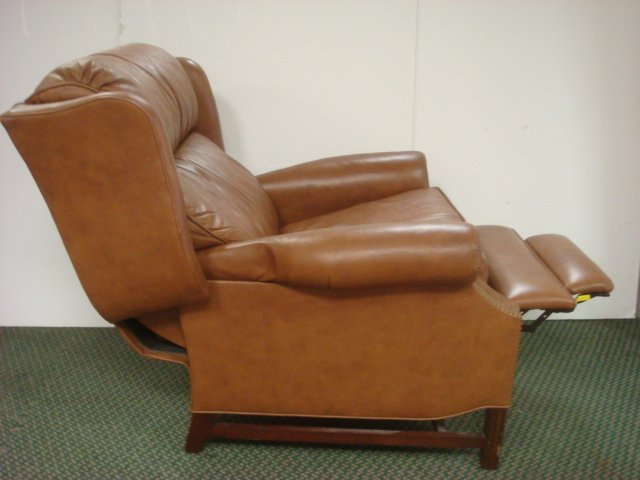 Two MOTIONCRAFT By Sherrill Leather Recliners: - 2