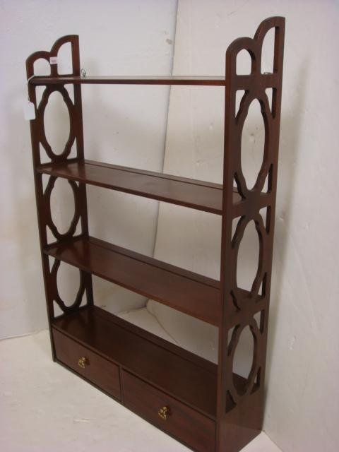 Two Wall Mounted Wooden Plate Racks: - 2