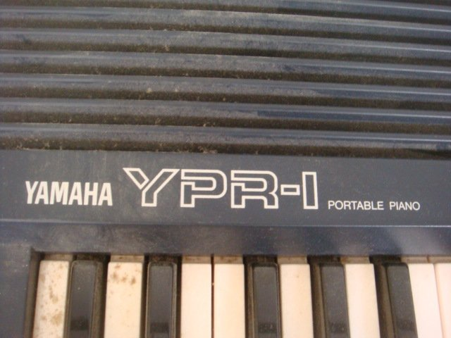 YAMAHA Model YPR-1 Portable Piano: - 2