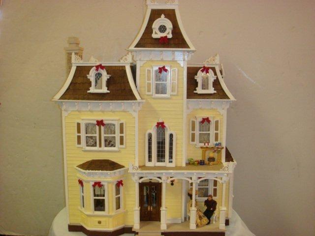 GREENLEAF Beacon Hill Furnished Dollhouse:
