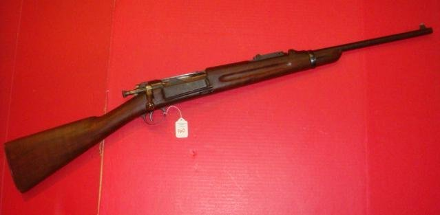 SPRINGFIELD ARMORY MODEL 1898 KRAG 30-40 CARBINE: