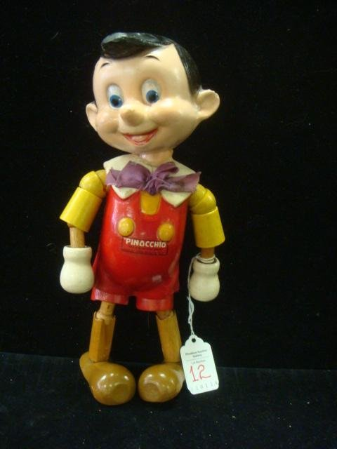IDEAL Disney Pinocchio Wood and Composition Doll: