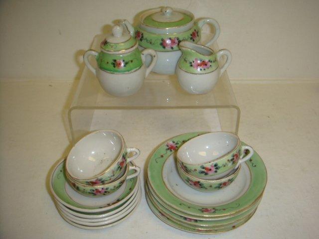 Childs 19 Piece Nippon Tea Set: