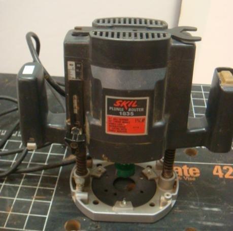 skil plunge router. skil plunge router model 1835, 1 3/4 hp: skil 5