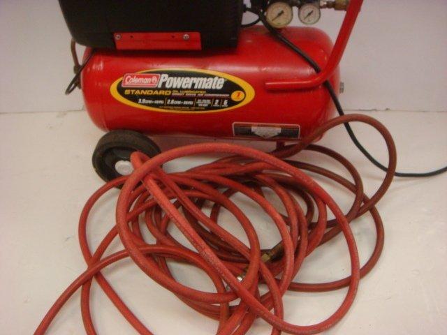 Coleman Powermate Direct Drive Air Compressor: - 3
