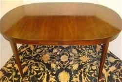 HENKEL HARRIS Virginia Galleries Inlaid Dining Table: