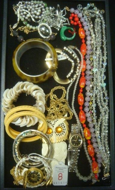Variety of Costume Necklaces and Bracelets: