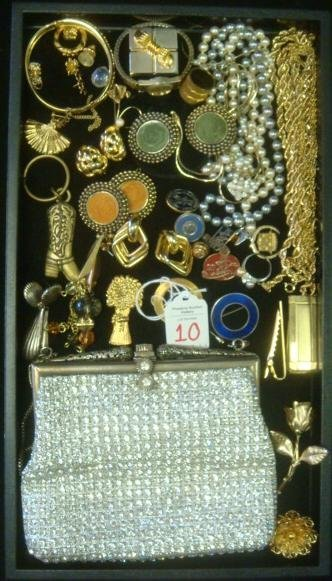 Medley Of Jewelry, Watches and Purse: