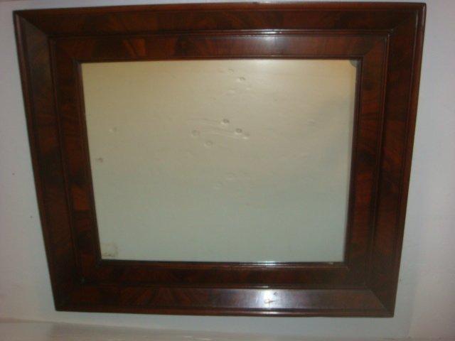 Flame Mahogany Framed Mirror: