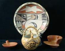Early 20th C ACOMA American Indian Pottery: